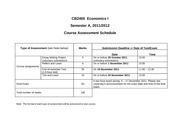 CB2400 Course Assessment Schedule 2011_9_6