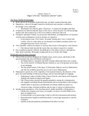 Chapter 15 Notes_ Literature and Art.docx