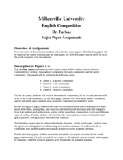 EngComp Major Papers
