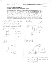 PHYS 141 - Homework 10 - Complex Pulleys