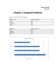 Chapter 2 Assigned Problems
