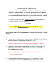 creating a proper thesis statement