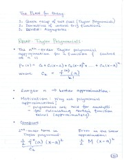 MATH 184 Derivatives of Inverse Trig Functions Notes