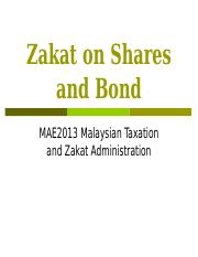Zakat on Shares.ppt