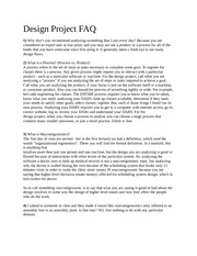 FAQ_Design Project