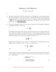 Midterm Solutions 2006