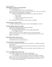 Packet #14 Notes - March 14