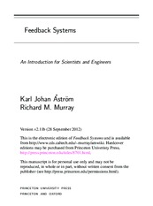 (Optimized for Ipad) Feedback Systems An Introduction for Scientists and Engineers - K. J. Astrom an