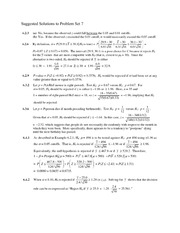 Solutions to Problem Set 7