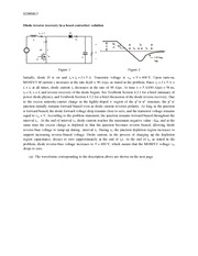 solution Diode reverse recovery in a boost converter