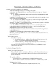 SocialPsych - Chapter8Notes