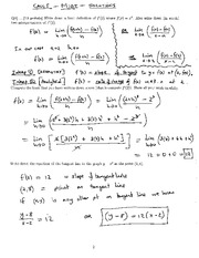 Math 1823 Midterm #1 Solutions