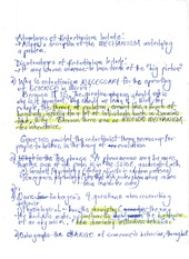 Reductionism Notes