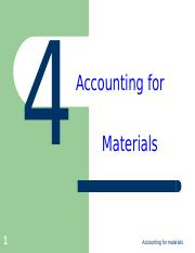 ACC2511Topic4 Accounting for Materials.ppt