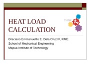 10 HEAT LOAD CALCULATION edited