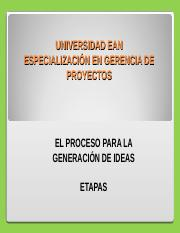 GENERACIÓN DE IDEAS.ppt