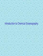 intro to chemical oceanography(1).ppt