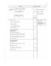 2006 Add Maths  Marking Scheme