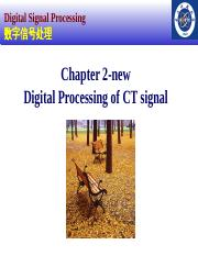 2014-Chapter 2-new DSP introductiion and digtal processing of CT