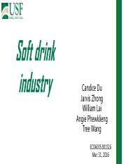soft drink industry 2016 spring-example