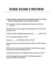 EGEE EXAM 2 REVIEW CHAPER 4