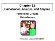 BWCopy Functional Groups and Haloalkanes