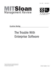 The Trouble With Enterprise Software