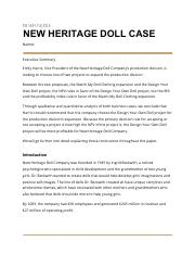 new heritage doll