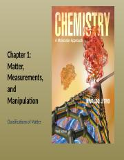 Chapter 1 - 2. Classification of Matter