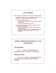 chap16.pdf - Lecture notes on labor supply