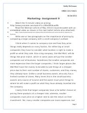 Marketing Assignment 9.docx
