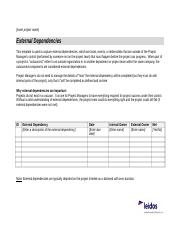 ExternalDependencies.doc