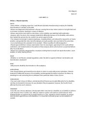 CASE BRIEF 13