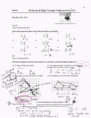 63rsgpdf Name Similarity 8 Right Triangle Trigonometry 63 Ready