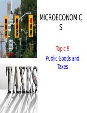 BAFB1023 Topic 9 Public Goods and Taxes.ppt