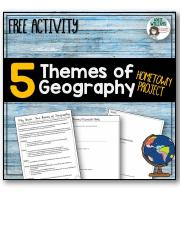 Five Themes of Geography Project about Your Town.pdf