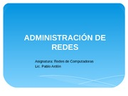 ADMIN REDES 0112