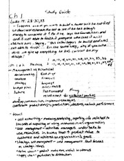 Acct 305 Class Notes Chapter 1-3&10