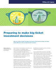 Preparing to make big-ticket investment decisions.pdf