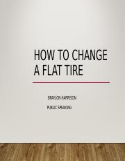 tire change.ppt