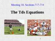 Notes_19_theTds_Equations