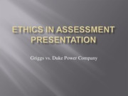 ethics in assessment ppt