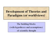 Topic 04 Theories&Paradigms