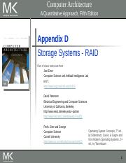 Lecture 18 Storage Systems-RAID(1) (2).pptx