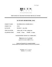 33130_AUT_2011_exam_with corrections