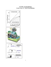 Geomorphology Notes 19