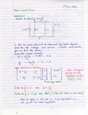 ECE361 Power Flow hand notes 2008