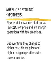(New) Wheel of Retailing.ppt