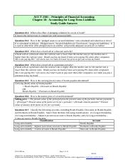Study Guide 10A (13 pages) FMA6e Accounting for Long-Term Liabilities(1).doc
