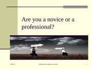 Professional or Novice-1